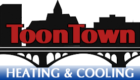 ToonTown Heating & Cooling Logo